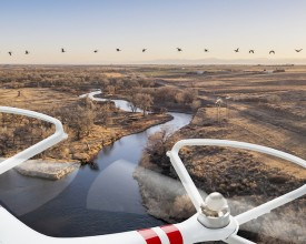 Hydrogen Fuel-cell Powered Drones with special designed UAV Cylinders COPV, UAV